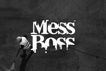 Mess Boss Brand Design by Onetonne Hobart, Tasmania