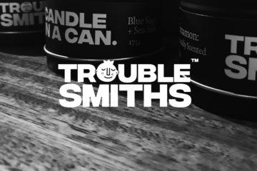 Brand design for Troublesmiths by Onetonne, in Hobart Tasmania